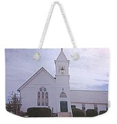 Church In Damascus Maryland Weekender Tote Bag
