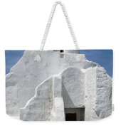 Church In Mykonos Weekender Tote Bag