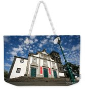Church In Ribeira Grande Weekender Tote Bag