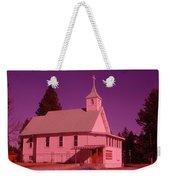 Church In Spirit Lake Idaho  Weekender Tote Bag