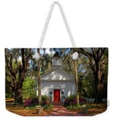Church In Spring Weekender Tote Bag
