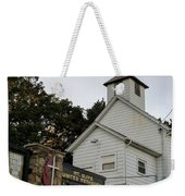 Church In The Country Weekender Tote Bag