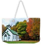 Church In The Wildwood Weekender Tote Bag