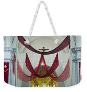 Church Interior 2 Guatemala  Weekender Tote Bag