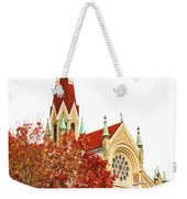 Church Next Door Weekender Tote Bag