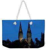 Church Night Weekender Tote Bag