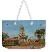 Church Of Caldera Weekender Tote Bag