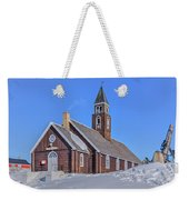 church of Ilulissat - Greenland Weekender Tote Bag