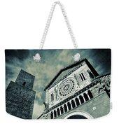 Church Of San Pietro - Tuscania Weekender Tote Bag