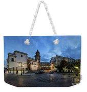 Church Of Santo Domingo Panorama Cadiz Spain Weekender Tote Bag