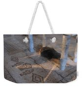 Church Of The Bread And Fish Weekender Tote Bag