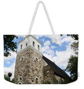 Church Of The Holy Cross At Rauma Weekender Tote Bag
