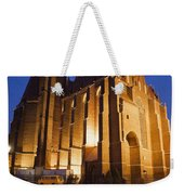 Church Of The Holy Cross By Night In Wroclaw Weekender Tote Bag