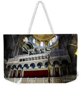 Church Of The Holy Sepulchre Interior Weekender Tote Bag