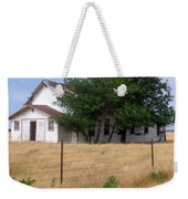 Church On The Grasslands  Weekender Tote Bag