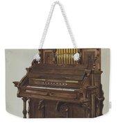 Church Organ Weekender Tote Bag