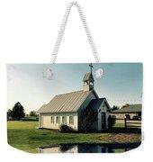 Church Reflection Weekender Tote Bag