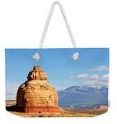 Church Rock Utah Weekender Tote Bag
