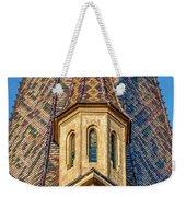 Church Spire Details - Romania Weekender Tote Bag