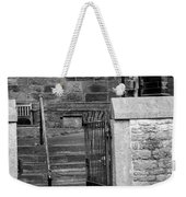 Church Steps Weekender Tote Bag