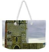 Church Tower - Remains Of St Helens Church Weekender Tote Bag