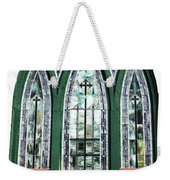 Church Window Weekender Tote Bag