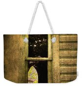 Church Window Church Bell Weekender Tote Bag