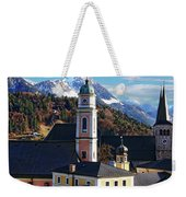 Churches In Berchtesgaden Weekender Tote Bag