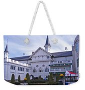 Churchill Downs Paddock Area Behind The Twin Spires Weekender Tote Bag