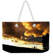 Churning Clouds 1 Weekender Tote Bag