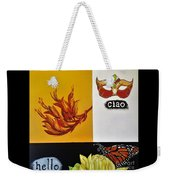 Ciao Means Hello Weekender Tote Bag