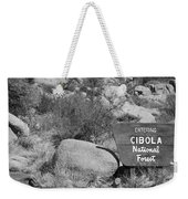 Cibola National Forest Weekender Tote Bag