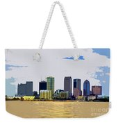 Cigar City Skyline Weekender Tote Bag