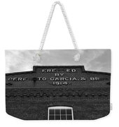 Cigar Factory 1914 Weekender Tote Bag