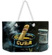 Cigar Weekender Tote Bag