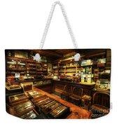 Cigar Shop Weekender Tote Bag by Yhun Suarez