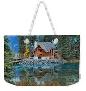 Cilantro Reflections Weekender Tote Bag