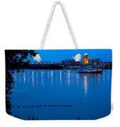 Cincinnati Belle Suspension Bridge Weekender Tote Bag