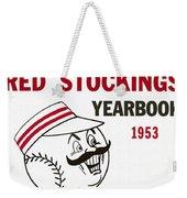 Cincinnati  Reds 1953 Yearbook Weekender Tote Bag