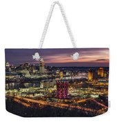 Cincinnati Sunrise Weekender Tote Bag