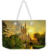 Cinderella Castle - Monet Style Weekender Tote Bag