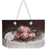 Spray Of  Roses Weekender Tote Bag