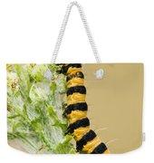 Cinnabar Moth Caterpillar Weekender Tote Bag