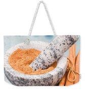 Cinnamon In Mortar Weekender Tote Bag