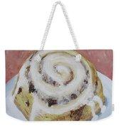 Cinnamon Roll Weekender Tote Bag