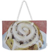 Cinnamon Roll Weekender Tote Bag