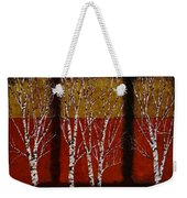 Cinque Betulle Weekender Tote Bag by Guido Borelli