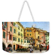 Cinque Terre - Vernazza Main Street - Vintage Version Weekender Tote Bag