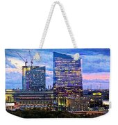 Cira Centre Skyline At Dusk Weekender Tote Bag