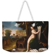 Circe And Her Lovers In A Landscape 1516 Weekender Tote Bag